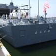 愛知衣浦港での護衛艦体験乗艦